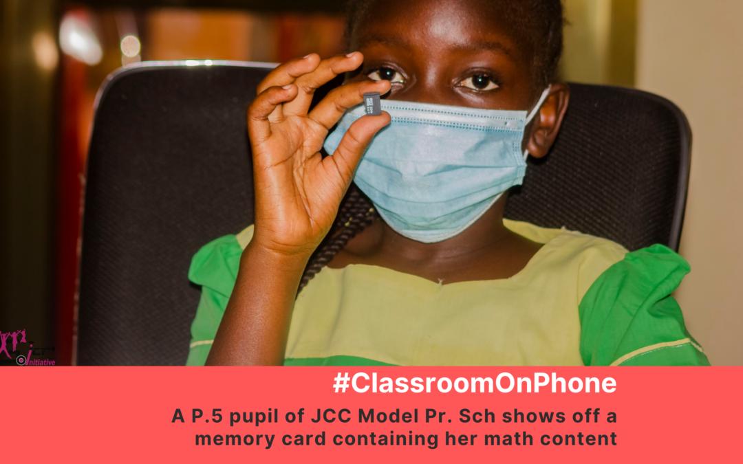#ClassroomOnPhone