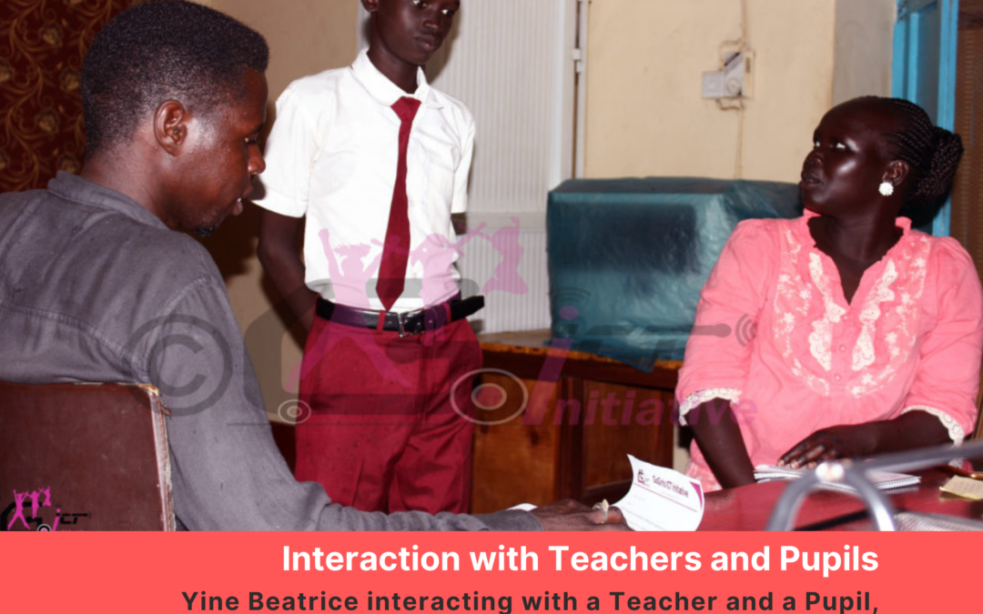 Interactions with Teachers: Follow up on #TTOSICT 2018 Mentees